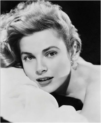 Grace Kelly sourcils de style