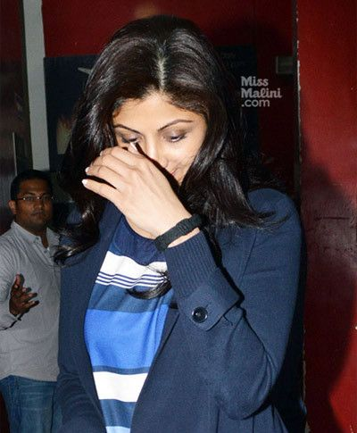 Shilpa Shetty sans maquillage