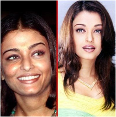 15 photos de Aishwarya Rai sans maquillage