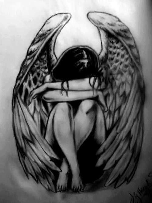 Fallen Angel tatouage
