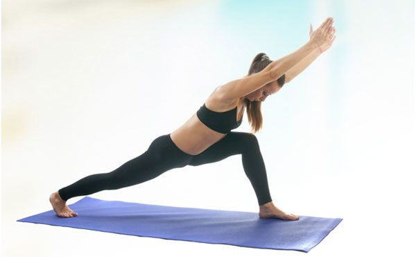 guerrier pose de yoga avantages