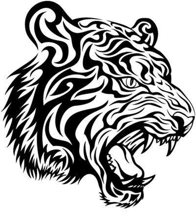 Meilleurs dessins de tatouage de tigre notre top 10 - Dessin tigre facile ...