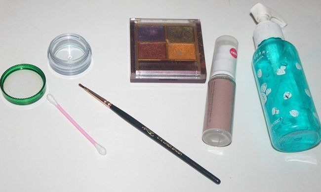 DIY - Comment faire Eye Liner Avec Eye Shadow