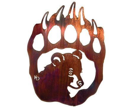 Top 10 des dessins ours de tatouage for Pictures of bear paw tattoos