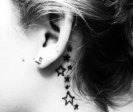 top 10 des conceptions de tatouage de l'oreille