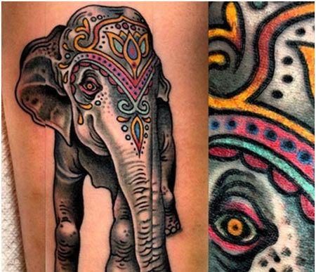 Top 10 Des Dessins D'Éléphant De Tatouage