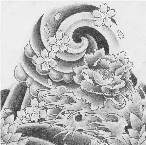 top 10 des dessins de tatouage japonais. Black Bedroom Furniture Sets. Home Design Ideas