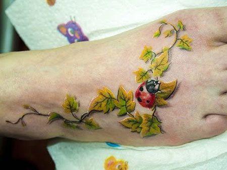 Garantie de satisfaction à 100% grande vente au rabais bien pas cher Top 10 des dessins de tatouage coccinelle