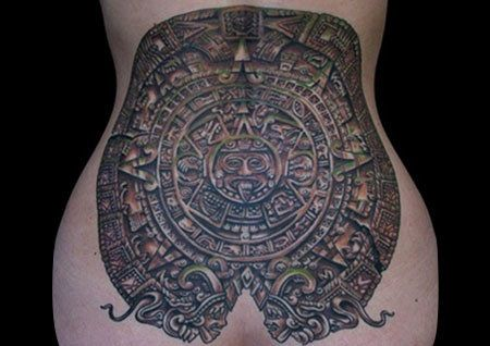 Top 10 des dessins de tatouage maya Photo