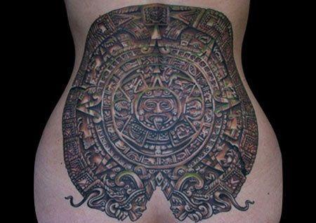 Calendrier Maya Dessin.Top 10 Des Dessins De Tatouage Maya