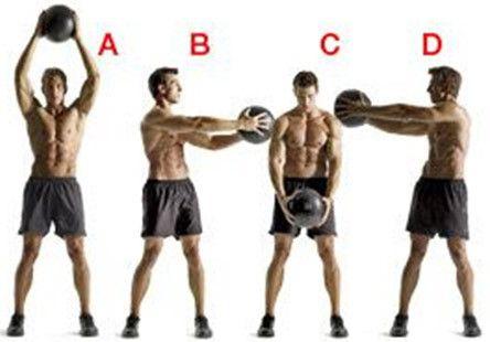 Top 10 exercices médecine-ball et de leurs avantages