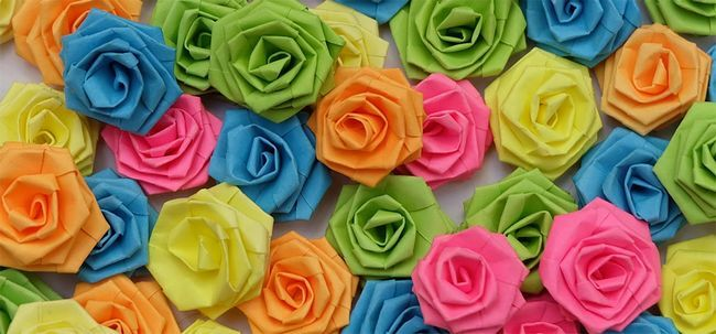 Top 10 des plus belles roses en papier Photo