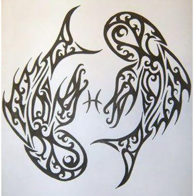 top 10 des poissons de dessins de tatouage. Black Bedroom Furniture Sets. Home Design Ideas