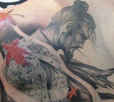 top 10 des dessins de tatouage samoura. Black Bedroom Furniture Sets. Home Design Ideas