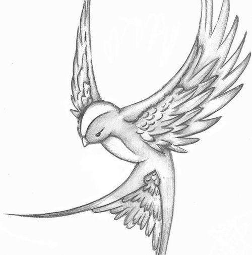 23 Sparrow Tattoo Designs Ideas: Top 10 Des Dessins Moineau De Tatouage