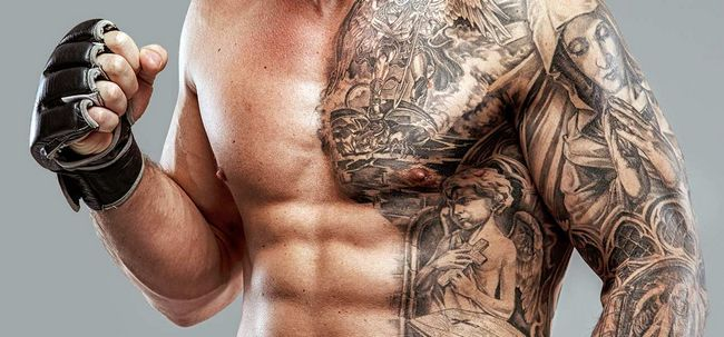 Top 10 des conceptions de tatouage de l'estomac Photo