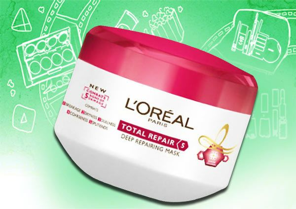 l'oreal total repair 5 hair masque