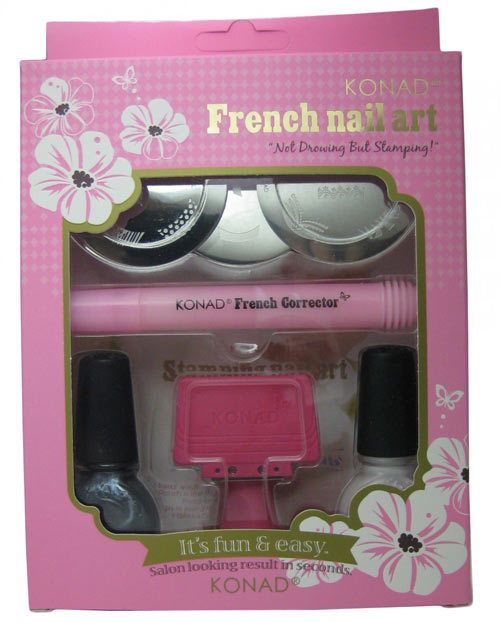 ongle français kit art estampage